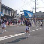 佐賀県警音楽隊が有田陶器市パレードで事件事故防止を呼びかけ