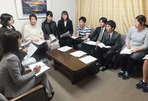 岡山県警で被害者支援の大学生ボランティア会議