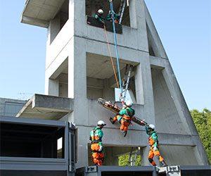 警視庁が東日本災害警備訓練施設で警備部長査閲