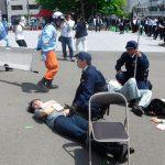 岩手県警で消防・自治体と連携したテロ対処訓練