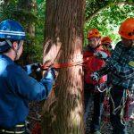 滋賀県警で山岳マイスターの山岳遭難救助訓練を実施