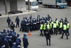 大規模警備や災害に備え岩手県警が実戦的訓練