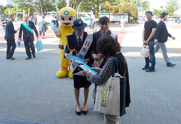 神奈川県警でみかじめ料等の不当要求撲滅キャンペーン