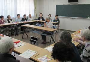 愛知県警が「振り込め詐欺被害防止コールセンター」と連携して被害防止訓練
