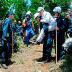 岡山・鳥取・兵庫の県境署で山岳遭難の合同救助訓練
