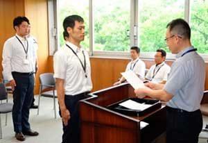 愛知県警で新たな指定通訳員24人を任命