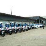 和歌山県警では特別交通機動隊の特別交通取締り出陣式