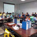 青森県むつ署で署機能移転訓練を実施