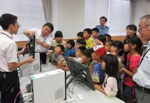 石川県白山署が子どもの警察業務体験会行う