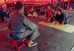広島県世羅署が夏祭りで防犯・事故防止を呼び掛け