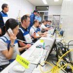 岡山県警で通信指令室サブセンター設置の訓練
