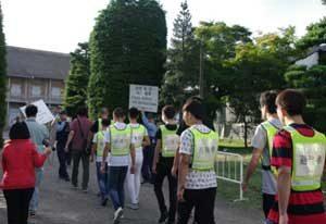 群馬県警が富岡製糸場でテロ対処訓練