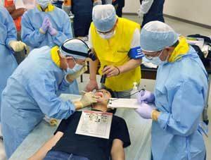 岐阜県警が医師会等と連携して検視等訓練