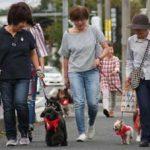 滋賀県甲賀署で犬のおまわりんさんパトロール開始
