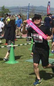 熊本県八代署員が地元マラソン大会で快走
