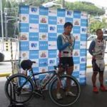 愛知県千種署が現役競輪選手招いて自転車交通安全教室を開催