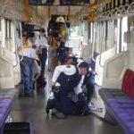 岩手県盛岡東署で電車の殺傷事案対応訓練
