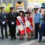 福岡県警鉄警隊が「鉄道の日安全安心キャンペーン」実施