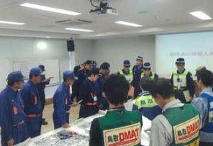 鳥取県倉吉署が大規模災害発生を想定の対応訓練