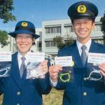 徳島県警察学校の初任科生が交通安全祈願のミサンガ製作