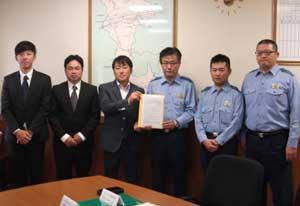 和歌山県かつらぎ署がアウトドアショップと被災時の物資供給協定