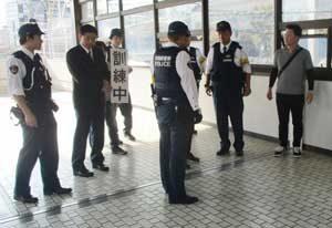 静岡・愛知の鉄警隊が新幹線使った合同訓練