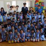 山口県柳井署が保育園に「ひまわりの絆プロジェクト」広める