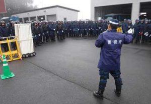 岩手県警で広域技能指導官招いての警備訓練を実施