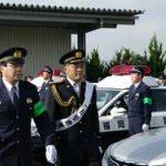 福岡県田川署がプロゴルファー・手島多一選手を一日警察署長に委嘱
