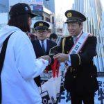K-1・武尊選手が神奈川県相模原署の一日警察署長に