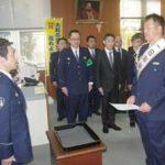 奈良県橿原署が阪神OB・関本さんを一日警察署長に