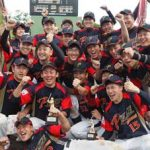 山形県警野球部が県実業人大会で優勝