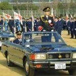 大阪府警で威風堂々の年頭視閲式