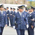 佐賀県警の三田本部長が年頭の通常点検