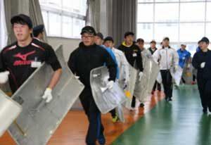 石川県警で採用予定者向けの学校生活研修会