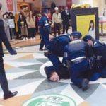 宮城県警がイオンモールで無差別殺傷事件想定した訓練実施