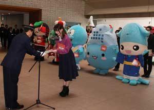 富山県警がゆるキャラやタレントを「サイバーセキュリティ大使」に委嘱