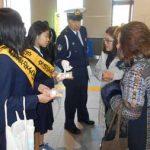 埼玉県岩槻署でバレンタインデーに合わせた事故・詐欺被害防止キャンペーン