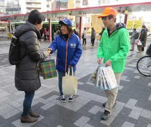 埼玉県警で学生ボランティアの意見交換会