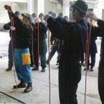 兵庫県警察学校でレスキュー伝承官が災害警備の授業を実施