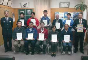 大阪府住吉署が電器店と「防犯機能付電話機」の普及協定