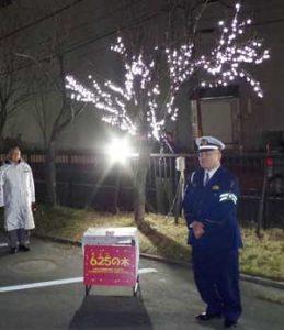 北海道釧路署の「625の木」交通事故の絶無に貢献