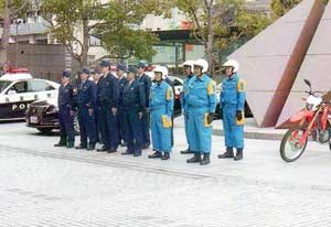 兵庫県警では災害地域支援チームを新たに編成