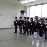 新潟県長岡署で園児が事業所に安全運転呼び掛けるイベント開催