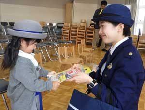 愛知県千種署が「チャイルドシート使用徹底モデル園」を委嘱