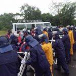 滋賀県警でG20大阪サミットの警備部隊合同訓練