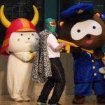 滋賀県警でゆるキャラ等参加の窃盗被害防止キャンペーン
