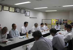 岐阜県警で県内22署の交通課長会議