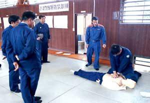 群馬県吾妻署が消防と合同で防災訓練を実施