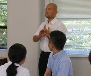 岡山県警察学校が手話ブラッシュアップ研修会を開催